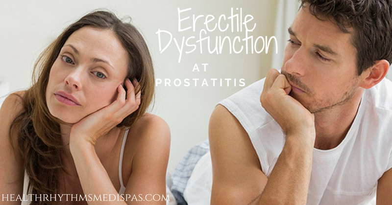 Erectile Dysfunction at prostatitis
